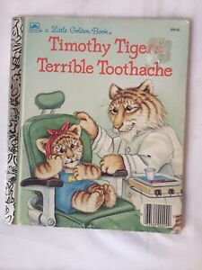 Little-Golden-Book-Timothy-Tigers-Terrible-Toothache-1988