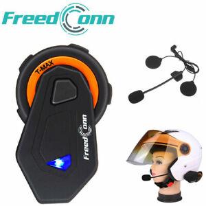 T-MAX-Motorrad-Bluetooth-Headset-Helm-Sprechanlage-Gegensprechanlage-Intercom