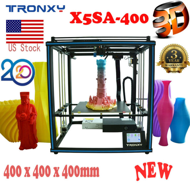 Tronxy DIY 3D Printer Kit X5SA-400 400x400x400mm Auto Level Bowden Extruder 24V