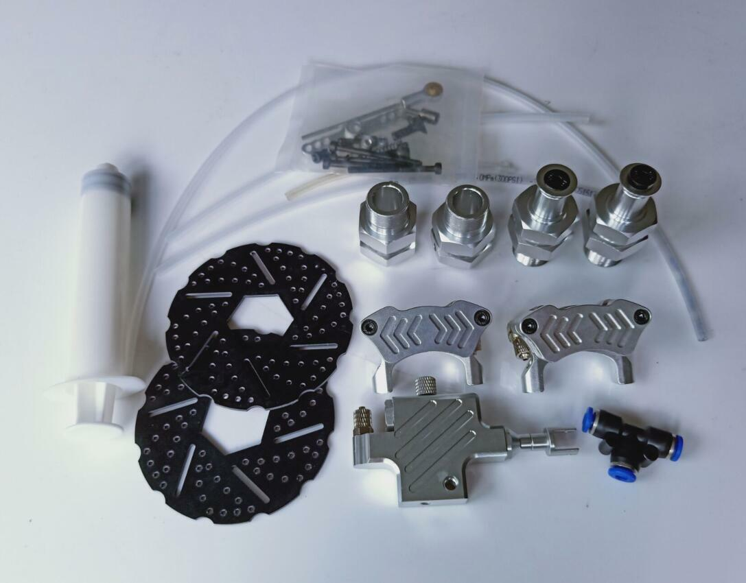 Baja 5b front Hydraulic brake system system system and extended set 5f46c3