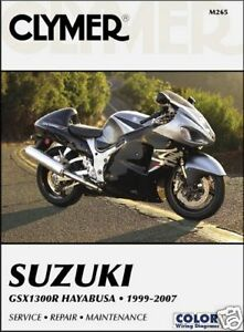 Suzuki GSX1300R GSX1300 Hayabusa 1999-2007 Clymer Handbuch M265 NEU ...
