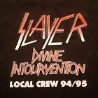 Slayer T-Shirt XL Divine Intourvention 1994 - 95 Local Crew