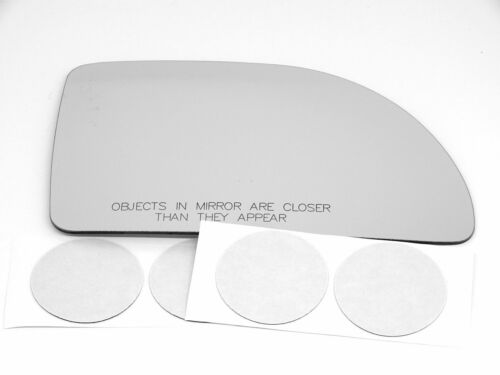 Fits 05-09 Equinox Torrent 92-07 Vue Right Pass Mirror Glass Lens w//Adhesive USA