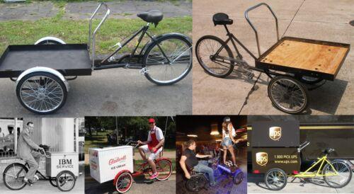 WFLTIC Worksman Tricycle Bike Hub INNER CONE Vintage Delivery Cart Trike Bicycle