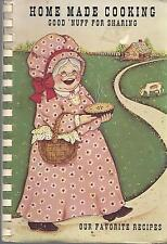 WABASH IN 1990 HOME MADE COOKING COOK BOOK *ALICE MARIE CROSS & THE GLASS FAMILY