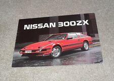 Nissan 300ZX 300 ZX Turbo Z31 Rare Sales Brochure 1985