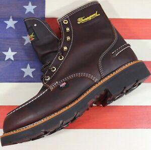 Thorogood-Flyway-6-034-Soft-Moc-Toe-Waterproof-Work-Boot-814-4140-Factory-2nd-USA