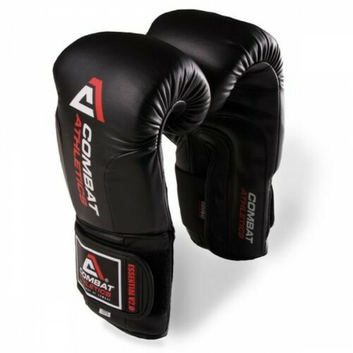 Combat Athletics Essential Boxing Gloves Adult Sparring Gloves Muay Thai Gloves