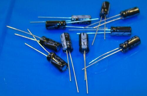0.47 uF Electrolytic Capacitors 50v Lot of 10 USA Seller