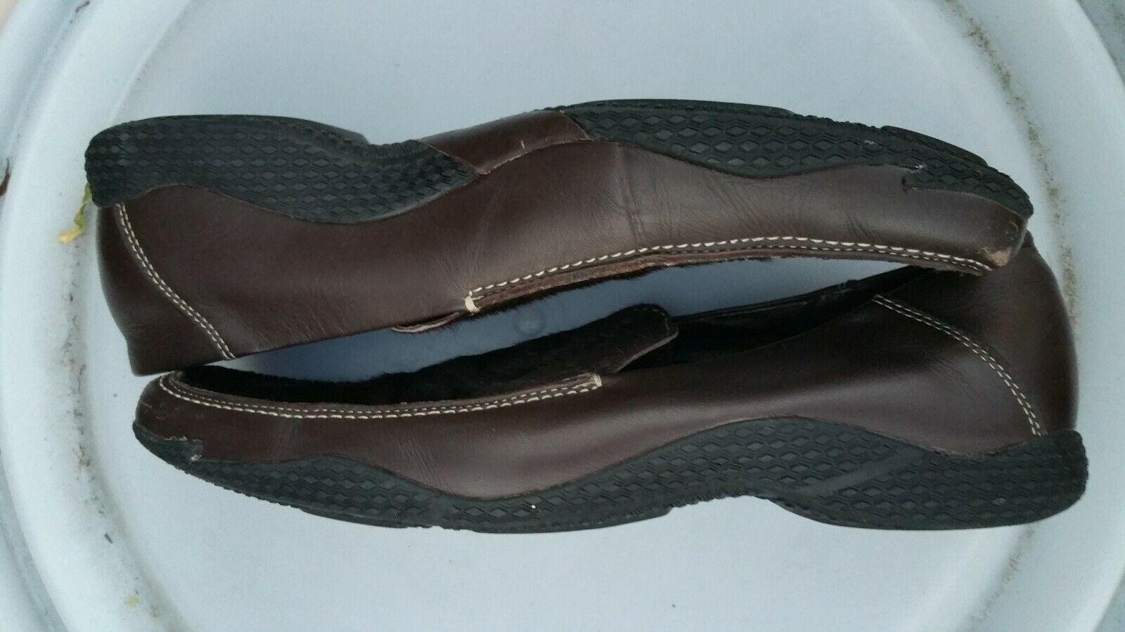 Kenneth Cole Reaction brown dress shoes size 7.5