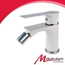Bidet  Armatur Einhebelmischer Badarmatur Badezimmer  Weiss Wc Armatur Design !!