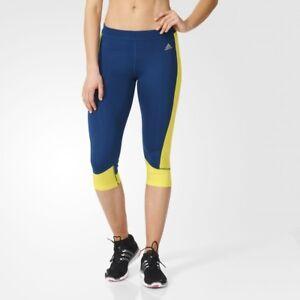 Collant Running blu Calzamaglia Adidas Techfit Gym Performance da donna CwyUqx0UOv