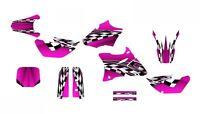 Yz85 Graphics 2002-2014 Yz 85 Dirt Bike Deco Kit 2500 Hot Pink Customizable