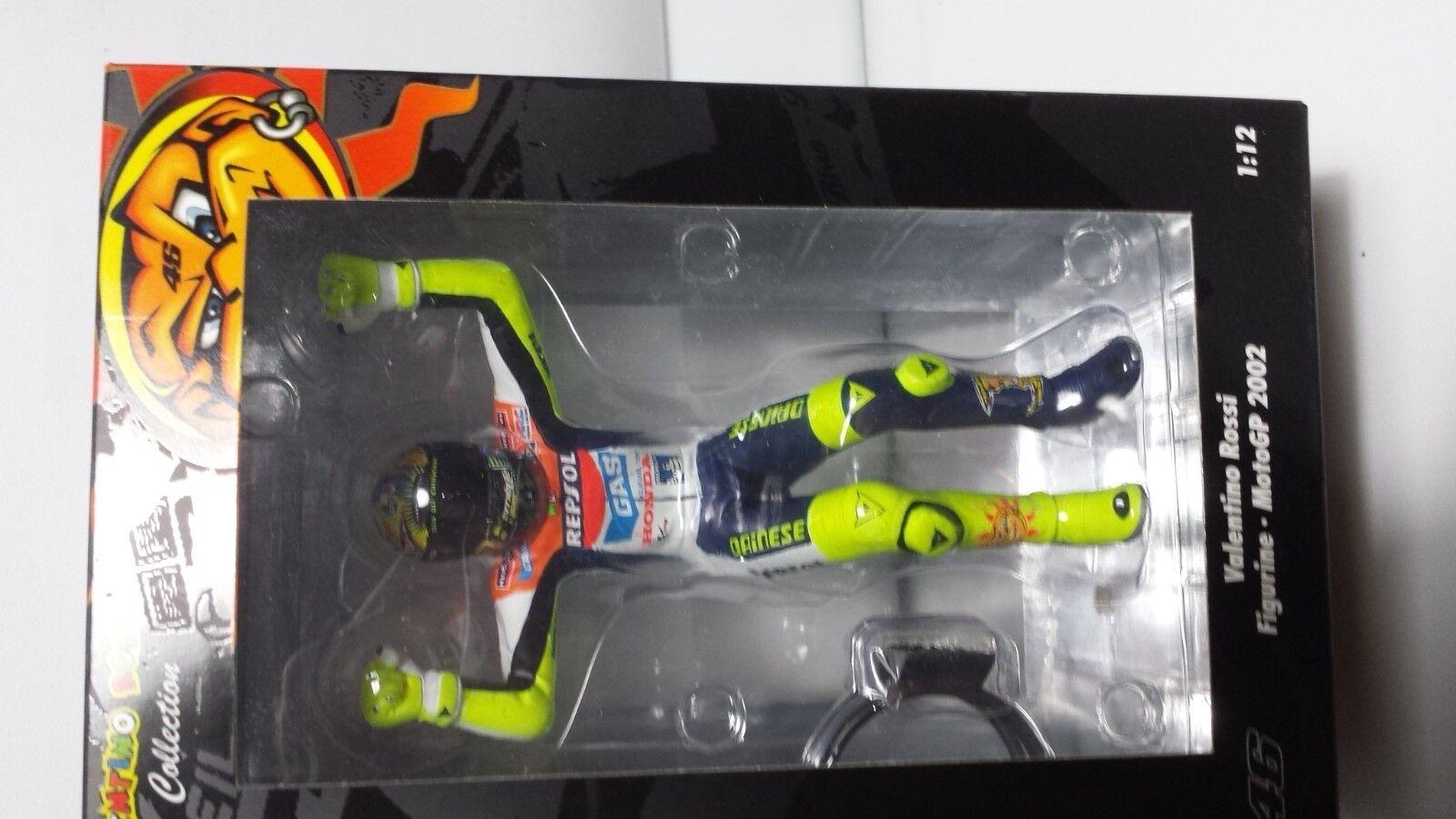 Valentino Valentino Valentino Rossi. MotoGP 2002. Figurine.  Minichamps 1 12. 8ee2c1