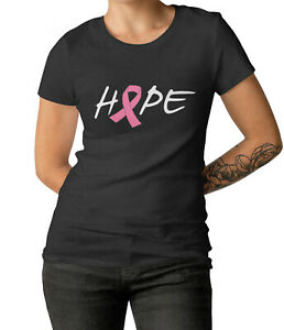Womens-Hope-T-Shirt-Breast-Cancer-Awareness-Survivor-Pink-Ribbon-Fu-Cancer-Tee