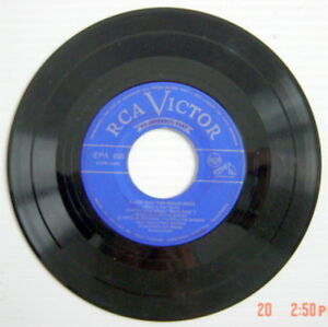 45-R-P-M-EXTENDED-PLAY-RECORD-THEME-MELODY-FROM-THE-FILMS-034-RUBY-GENTRY-034-034-ANNA-034