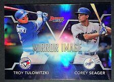 2016 Bowman's Best Mirror Image Insert COREY SEAGER #MI-11 LA Dodgers Rookie NM