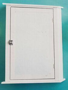 "30"" White Bathroom Medicine Cabinet Chrome H/W Wall ..."