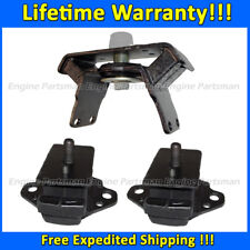 Toyota Tacoma Pre Runner Transmission Engine Motor Mount 3 Pcs 98-03