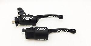 ASV-Black-F3-Unbreakable-Brake-Clutch-Levers-Kit-Yamaha-Raptor-700-700R