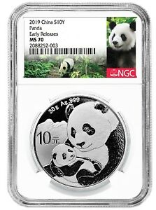 2019-China-10-Yuan-Silver-Panda-NGC-MS70-Early-Releases-Panda-Label