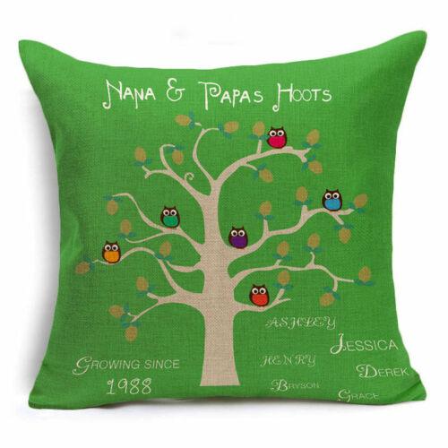 Cotton Linen Pillow Case Cushion Cover Fashion Style Economic Home Decor