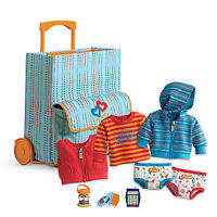 American Girl Bt Bitty Twin Starter Suitcase Set 9 Pc For 15 Dolls