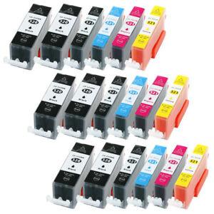 18-Druckerpatronen-XL-mit-Chip-fuer-Canon-iP4700-MP540-MP550-MP560-mit-Video