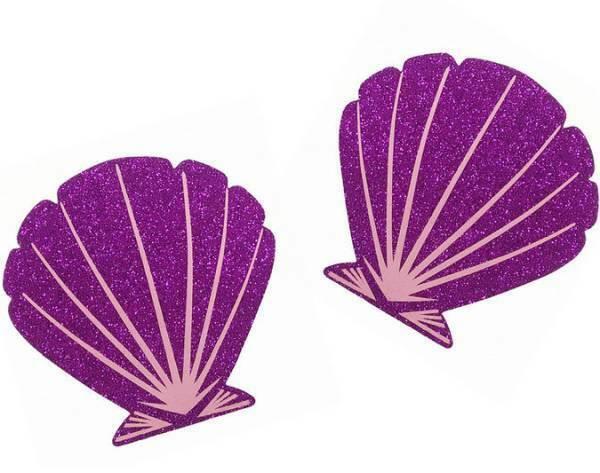 1 Paar Nippelcover Pink Glitzer Muschel Stern Blume Kreis Brustwarzen Abdeckung
