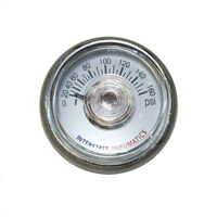 Pressure Gauge 160 Psi 1.25 Diameter 1/8 Npt Rear Mount - G2100-160