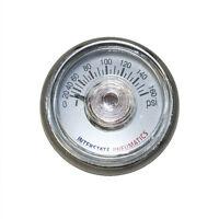 Pressure Gauge 160 Psi 1.25 Diameter 1/8 Npt Rear Mount - G2100-160
