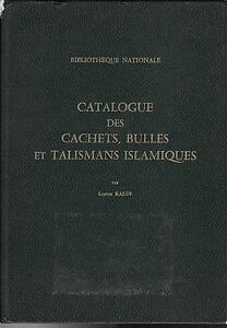 KALUS-Catalogue-des-cachets-bulles-et-talismans-islamiques-Paris-1981