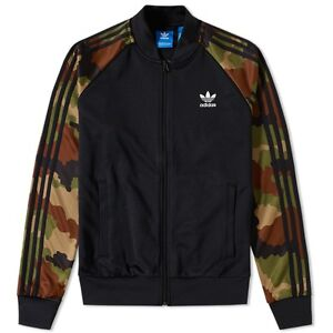 BNWT ADIDAS ORIGINALS DMC RUN SUPERSTAR RUN DMC CAMO TRACK TOP CHAQUETA NEGRO CAMO 8cc0f4f - immunitetfolie.website