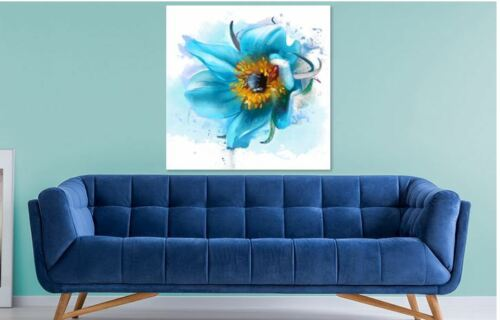 BEAUTIFUL FLOWERS Framed Canvas home wall Picture Art choose your size