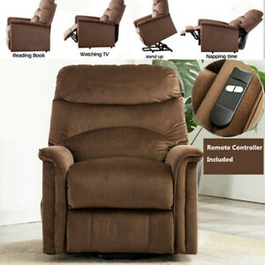 Electric-Power-Lift-Recliner-Chair-Upgrade-Motor-Overstuffed-Padded-Cushion