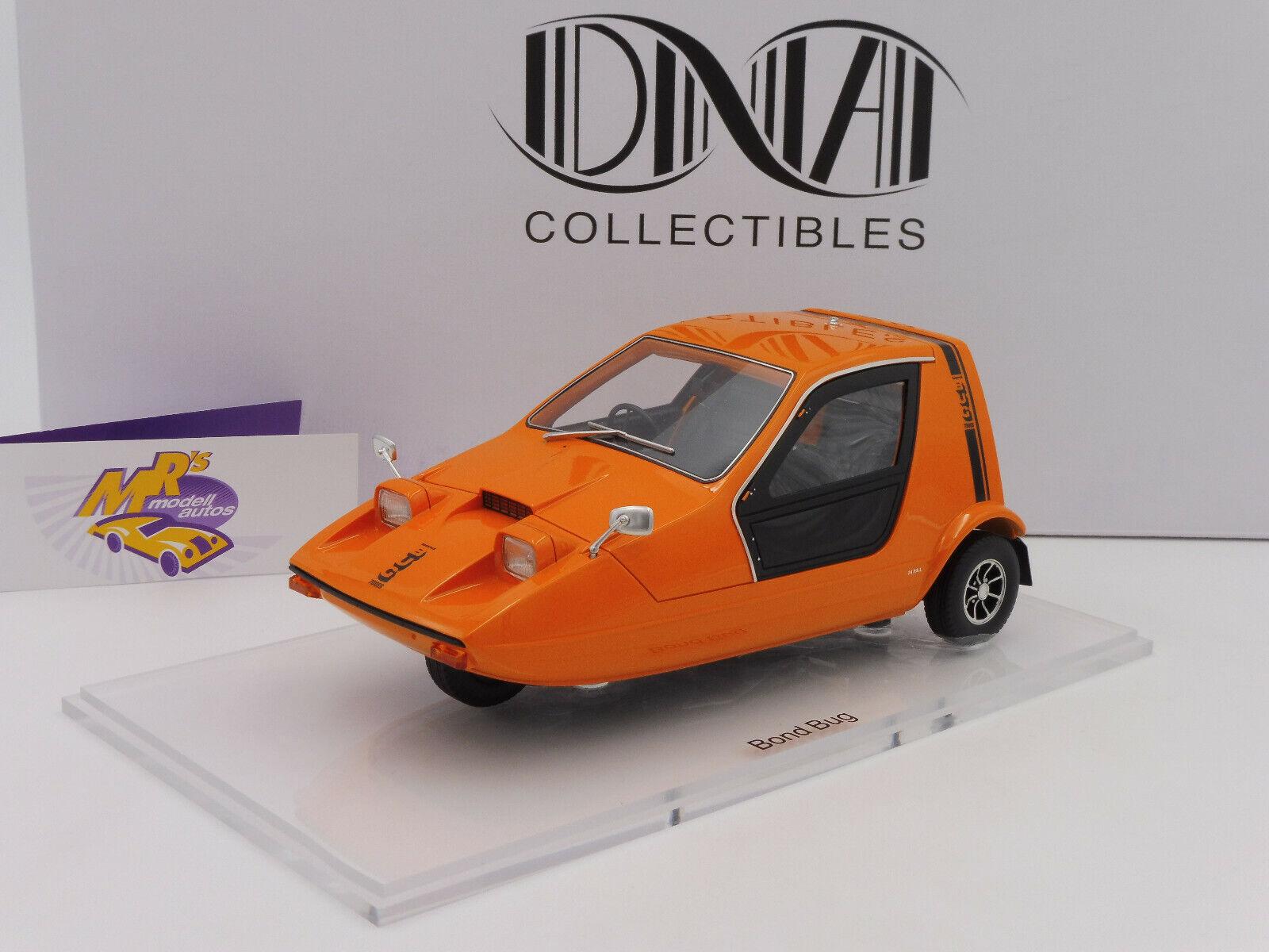 ADN Collectibles 000003   Bond Bug petite voiture l'année de construction 1970 in  Orange  1 18