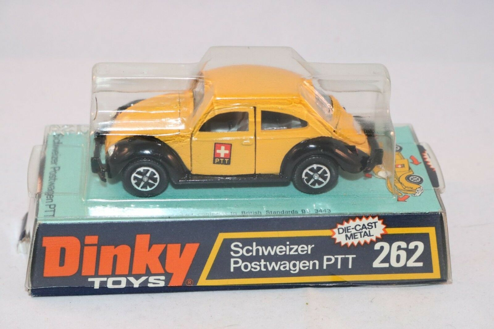 Dinky Toys 262 Schweizer Postwagen PTT perfect mint in box a superb example