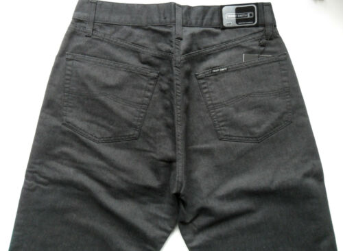 Teddy Smith Jeans Hommes Coupe Régulière Anthracite Taille 30 32 34 36 38