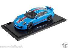 PORSCHE 911 CARRERA S (991) Martini Riviera Blu 1:18 Ltd. Edition 600 wax02100001