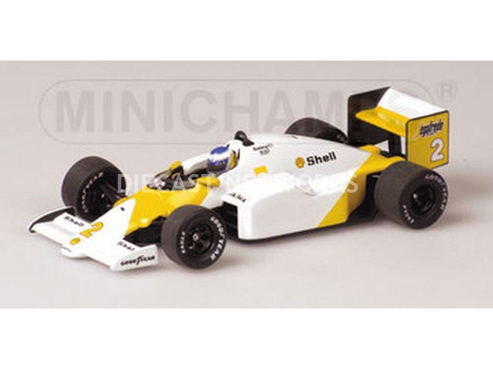 Minichamps Mclaren MP4  2C Gp Portugal 1986 Rosberg  2 1 18 Échelle Neuf  point de vente