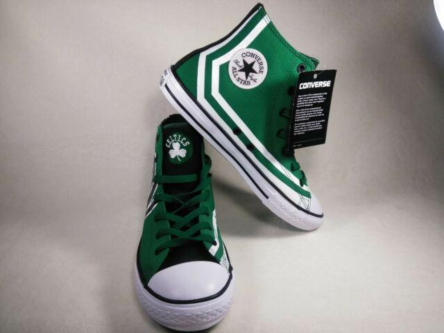 Limited Edition Boston Celtics NBA Converse All Star Chuck Taylor Green Sz 6
