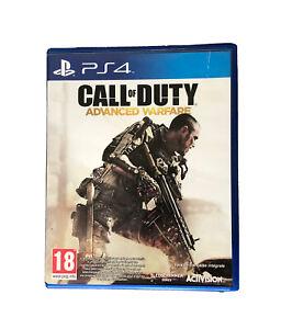 Jeu Call Of Duty Advanced Warfare Playstation PS4 Version Française Integrale