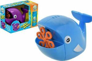 Infantil-Ballena-Burbuja-Fabricacion-amp-Blowing-Maquina-Jardin-Bateria-Pilas-Toy