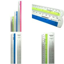 Bazic Assorted transparent Jeweltones Color Ruler 12 Inches 30cm 4//Pack #336