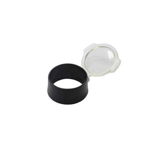 Airgun Scope Cover Quick Flip Spring Up Kappe Open Objective Lens Transparent