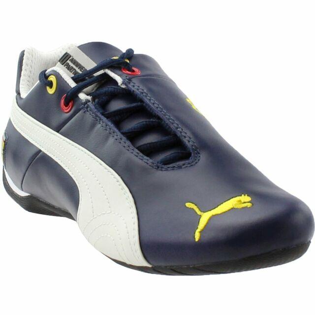 a2c289a2b4f4 Puma Scuderia Ferrari Future Cat Leather Sneakers Blue - Mens - Size 6.5 D