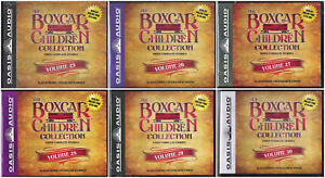 NEW-The-Boxcar-Children-Collection-Vol-25-30-Volume-26-27-28-29-Audio-CD-Warner