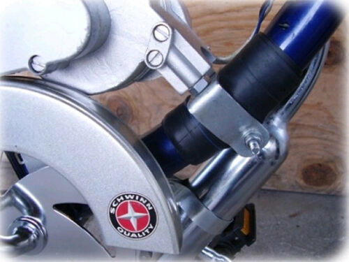 WITHOUT RUBBER MOTORIZED BIKE Strong-N-Easy Bracket Reduces Vibrations