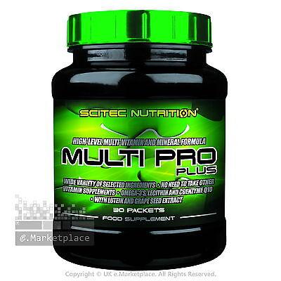 Scitec Nutrition MULTI PRO PLUS 30 Packets Multi Vitamin and Mineral Formula