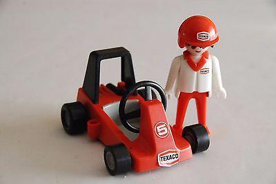1 Volant Noir pour Formule 1 F1 /& Karting PLAYMOBIL RACING S449